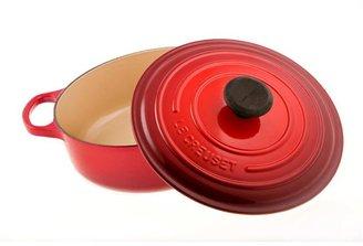 Le Creuset 3.5-qt. Wide Round Signature Enamel Cast Iron French Oven, Cherry