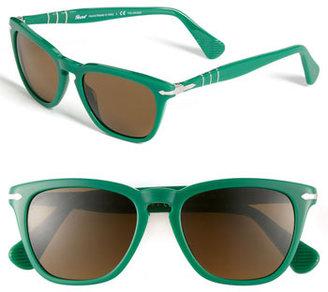 Persol 52mm Polarized Retro Sunglasses
