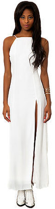 *MKL Collective The Slip Dress in White