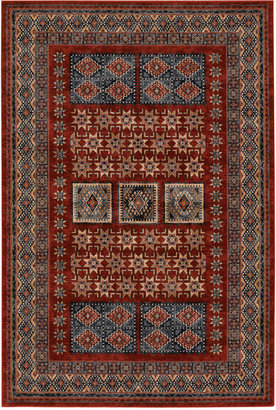 "Couristan Area Rug, Timeless Treasures Royal Kazak Burgundy 5'3"" x 7'6"""