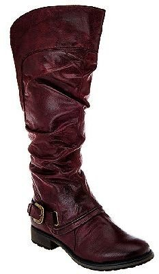 BareTraps Tall Shaft Boots w/Ruching & Gore Detail - Sheridan $41.63 thestylecure.com