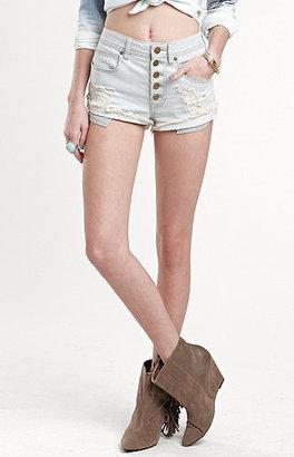 Kylie Minogue Kendall & Kylie Frostbite High Waist Shorts