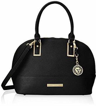 Anne Klein Shimmer Down Dome Satchel Bag $89 thestylecure.com