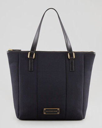 Marc by Marc Jacobs Tech Me Quilted Fabric Tote Bag, Black