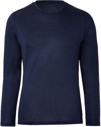 Jil Sander Cotton Long Sleeve T-Shirt
