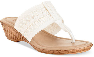 Easy Street Shoes Tuscany by Venice Thong Sandals