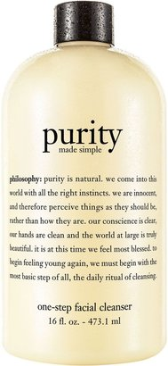 philosophy purity made simple facial cleanser 16oz.