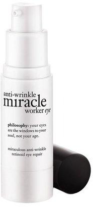 Philosophy Anti-Wrinkle Miracle Worker Eye Miraculous Anti-Wrinkle Retinoid Eye Repair $47.60 thestylecure.com