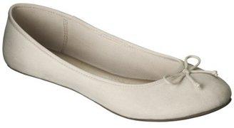 Merona Women's Madge Ballet Flat - Ivory