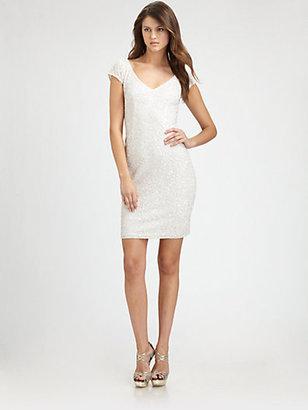 Theia Beaded Dress