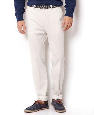 Nautica Pants, Linen Dobby Stripe Pants