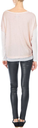 Rag and Bone Feather Long Sleeve Tee