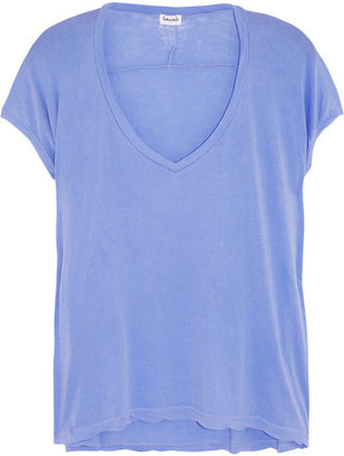 Splendid Vintage Whisper cotton slub-jersey T-shirt