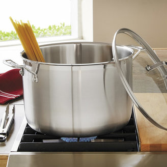 Cuisinart MultiClad Professional Stockpot with Glass Lid
