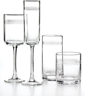 Artland Glassware, Set of 4 Concentrix Highball Glasses