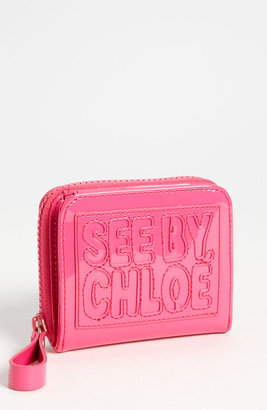 See by Chloe French Wallet Fuxia One Size
