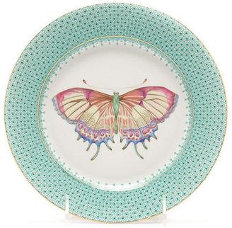 Mottahedeh Green Lace Butterfly Dessert
