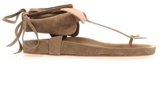 Isabel Marant Elva bow tie sandals