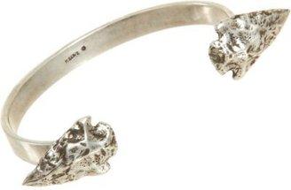 Pamela Love Antique Silver Double Mini Arrowhead Cuff