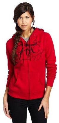 Fox Womens Juniors Drift Zip Hooded Jacket