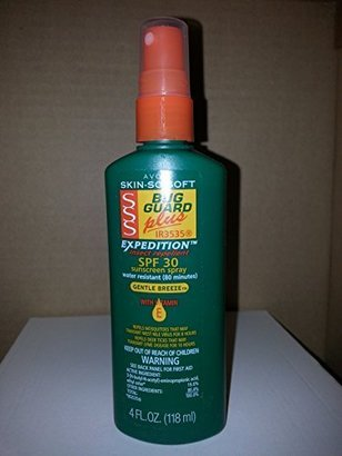 Avon Skin so Soft Bug Guard Plus Expedition SPF 30 Pump Spray, 4 Ounce $7.38 thestylecure.com