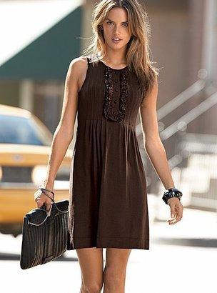 Victoria's Secret Bib-front tank dress