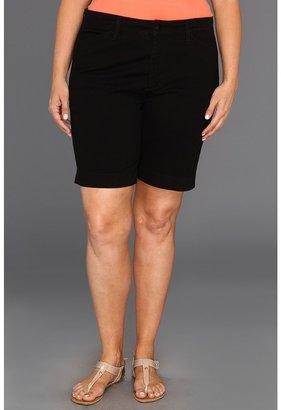 NYDJ Plus Size Plus Size Aviva Short Fine Line Twill