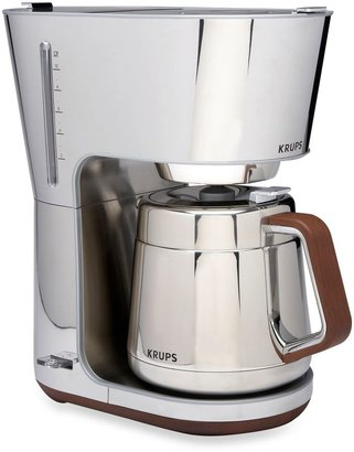 Krups Silver Art Collection 10-Cup Coffee Machine
