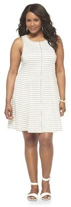 Mossimo Women's Plus Size Sleeveless Fit & Flare Dress