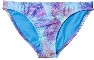 Xhilaration Junior's Hipster Swim Bottom -Multicolor Print