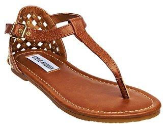 Steve Madden Girl's J Suttle Sandal - Cognac
