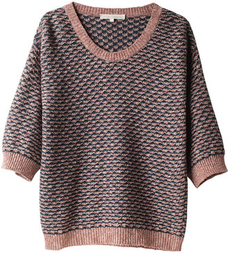 Vanessa Bruno Textured Jacquard Sweater