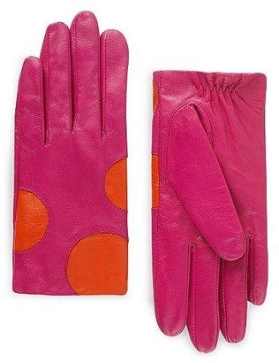 Kate Spade Bethesda terrace shorty dot gloves