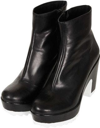 Topshop AKITA Razor Sole Boots