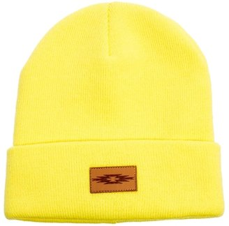 Asos Beanie Hat with Patch - Yellow