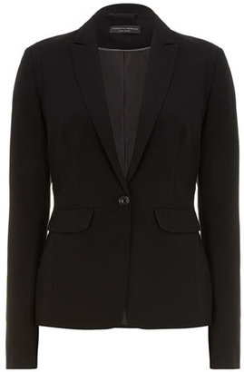 Dorothy Perkins Tall black one button jacket