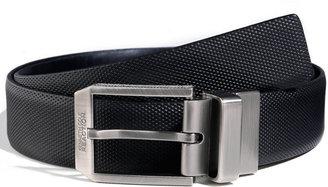 Kenneth Cole Reaction 35mm Reversible Textured Strap Belt