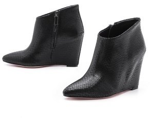 BCBGMAXAZRIA Vadans Pointy Toe Wedge Booties