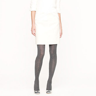 J.Crew Chunky cable-knit tights