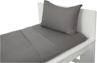 Argington Twin Sheet Set - Solid Grey