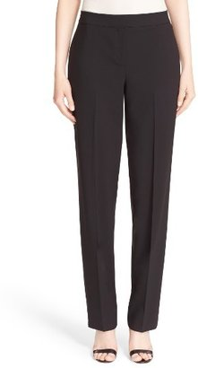 Women's St. John Collection 'Diana' Tropical Wool Pants $495 thestylecure.com