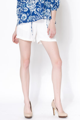 Vero Moda Lce Spirito Vero White Shorts