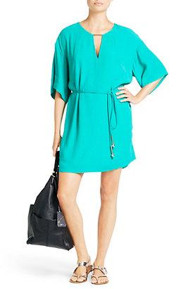 Diane von Furstenberg Tina Tunic Dress In Parakeet