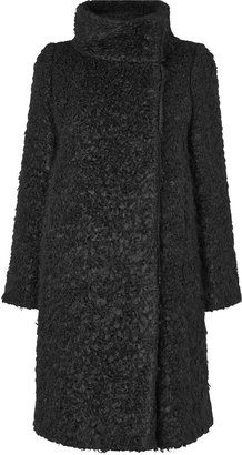 Jaeger Funnel curly boucle coat