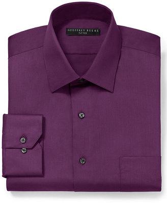 Geoffrey Beene Solid Sateen Dress Shirt