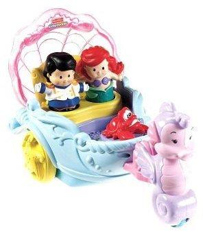 Fisher-Price Little People Disney Princess Ariel's Coach