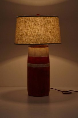 Anthropologie Red Boathouse Lamp Base