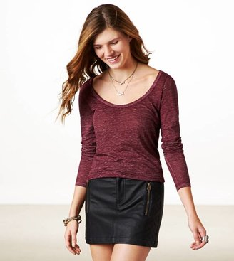 American Eagle AE Real Soft Long Weekend Layering T-Shirt