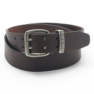 Dickies Double-Grommet Leather Belt - Men