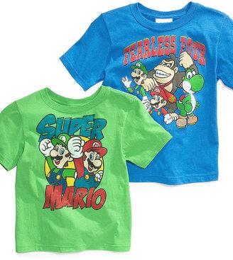 Nintendo Isaac Morris Kids T-Shirt, Little Boys Super Mario Tee